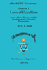 Course 01 Laws of Occultism - eBook PDF DOWNLOAD