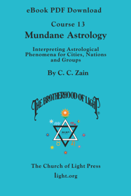 Course 13 Mundane Astrology - eBook PDF DOWNLOAD