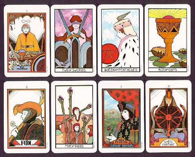 light org | Tarot Cards - Aquarian Tarot