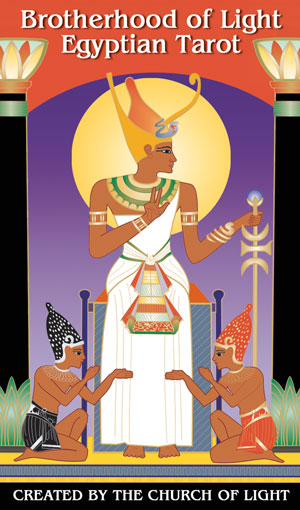 Tarot Cards - Brotherhood of Light Egyptian - Full Color