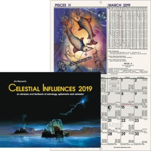 Calendar Wall  PST Celestial Influences