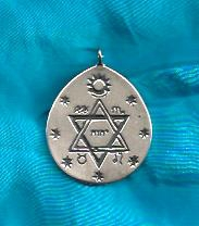 Pendant - Silver Brotherhood of Light Symbol