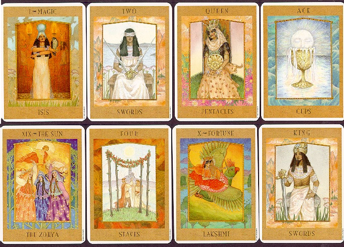 Tarot Cards - The Goddess Tarot