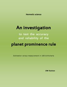 Planet Prominence Rule Investigation