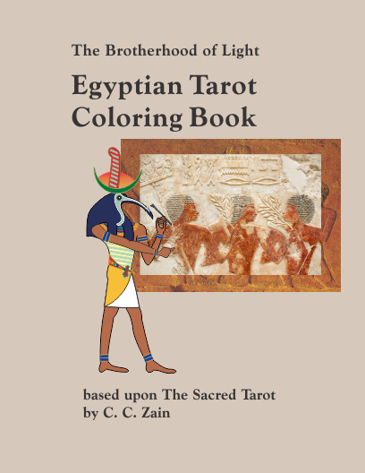 Tarot Coloring Book