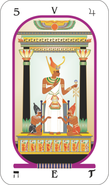 Hermetic astrology | Jupiter and the Hierophant | Egyptian tarot