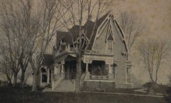 House where Elbert Benjamine lived from age 6 until he left home