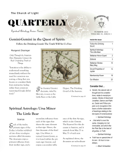 Quarterly Page 1